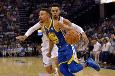 Tampil Gemilang, Curry Bawa Warriors Tumbangkan Grizzlies