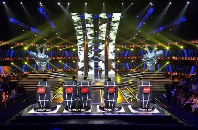 10 Kontestan Hadir di Blind Audition The Voice Indonesia Pekan Ini