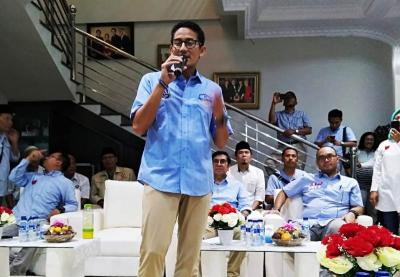 Datang ke Cirebon, Sandiaga Uno Disebut Seperti Wali Songo dan Laksamana Cheng Ho