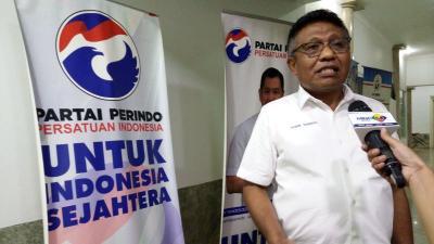 Prabowo Prediksi Indonesia Punah, Perindo: Dia Panik karena Jokowi Masih Unggul