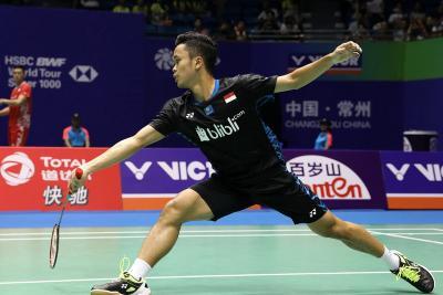 Kunci Sukses Anthony Ginting Melaju ke Babak Kedua Malaysia Masters 2019