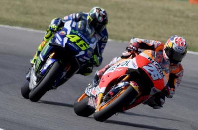 Rossi Kenang Balapan dengan Pedrosa di MotoGP Republik Ceko 2006