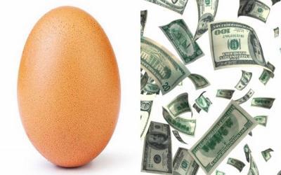 Fantastis, Foto Telur yang Kalahkan Kylie Jenner Dihargai Rp4,6 Miliar!