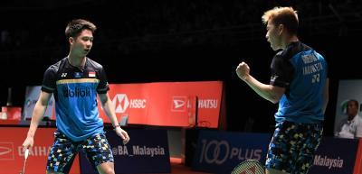 Marcus Kevin Siap Hadapi Musuh Bebuyutan di Semifinal Malaysia Masters 2019