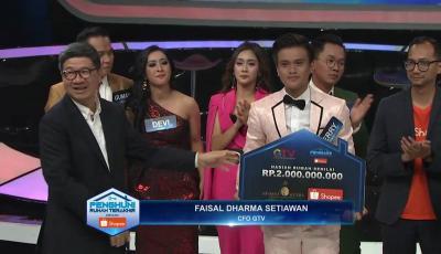 Juara Penghuni Rumah Terakhir, Ferry Raih Hadiah Rp2 M