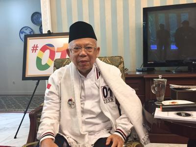 Minim Bicara saat Debat, Ma'ruf Amin: Saya Tinggal Menyetujui, Jangan Kayak <i>Saur Manuk</i>