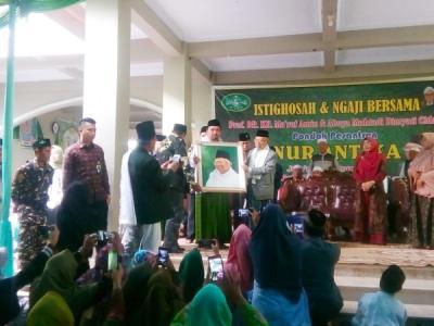 Ma'ruf Amin: Memalukan Jika Warga Banten Tak Pilih Putra Daerahnya