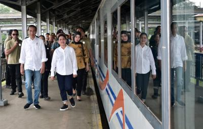 Reaktivasi 4 Stasiun, Presiden Jokowi: Dulu Charlie Chaplin Naik KA dari Bandung ke Garut