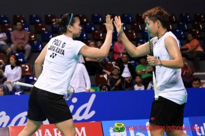 Tumbangkan Wakil Jepang, Greysia Apriyani ke Final Malaysia Masters 2019