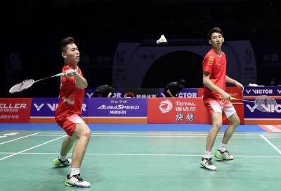Ganda Putra China Tak Berani Pasang Target Tinggi di Indonesia Masters 2019