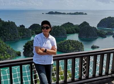 Momen Sri Mulyani Kagumi Keindahan Raja Ampat, A Truly Wonderful Indonesia