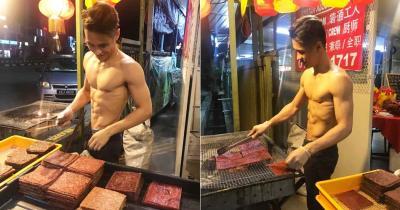 Pedagang Daging Ini Mendadak Viral, Setelah Foto Telanjangnya Tersebar di Media Sosial