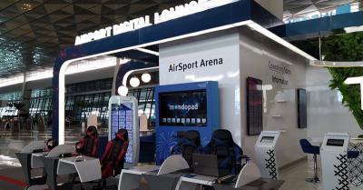 AirSport Arena Tawarkan Fasilitas Bermain Game Gratis di Bandara Soetta