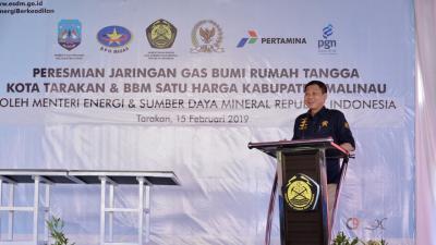 Menteri ESDM: BBM Satu Harga Tumbuhkan Perekonomian Warga Malinau