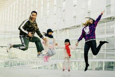 Potret Hot Daddy Choky Sitohang, Tetap Keren dengan 2 Anak