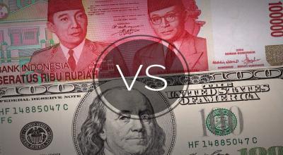Rupiah Menguat Tipis ke Rp14.103 USD