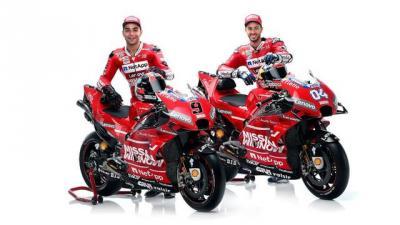 Ducati Lebih Senang dengan Duet Dovizioso-Petrucci