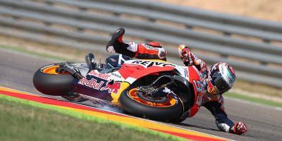 Marquez Ungkap Penyebab Dirinya Sering Terjatuh di MotoGP 2018