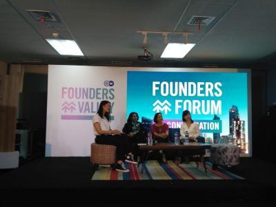 MNC Play, MNC Vision dan DW Dorong Perkembangan Wirausaha Wanita Indonesia Melalui Founders Forum