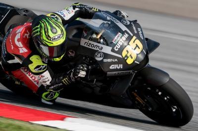 Bantah Marquez, Crutchlow: Bagian Depan Motor Honda Sangat Kuat