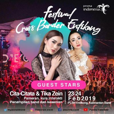"Festival Crossborder, Cita Citata Akan ""Goyang Dumang"" di Entikong"