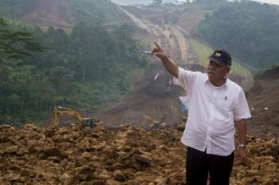 Pembangunan Bendungan Sindangheula Sudah Rampung 98%
