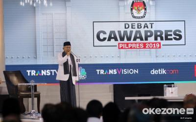 Ma'ruf Amin Bersumpah Perangi Hoax saat Debat Cawapres, Apa Kata Psikolog?