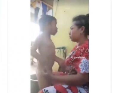 """Emak Marah-marah Sambil Mengumpat """"Biasa Anak Durhaka"""", Netizen: Ngakak Sampai Nyawa Mau Keluar"""