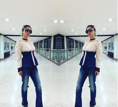 Style Seksi Pelantun 'Bang Jali' Lynda Moymoy yang Lagi Naik Daun