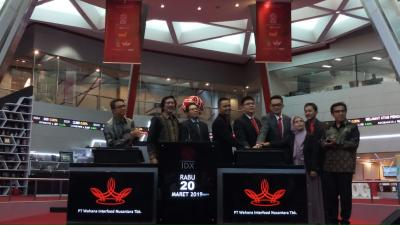 IPO, Saham Wahana Interfood Melonjak 69%