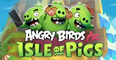Angry Birds Terbaru Dukung Tampilan AR di Platform iOS