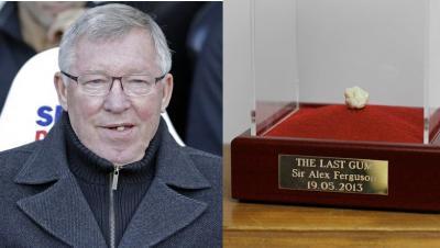 Permen Karet Bekas Kunyahan Alex Ferguson 6 Tahun Lalu Laku Rp7,3 Miliar