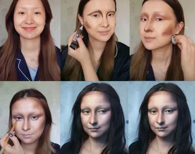 Beauty Blogger Ini Bisa Ubah Wajahnya Jadi Mona Lisa hingga Taylor Swift, Asli Mirip Banget!
