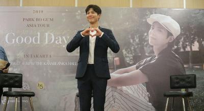 Park Bo Gum Janji Hadirkan Suasana Konser dalam Fan Meeting di Jakarta