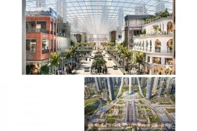 Intip Mal Terbesar Dunia Rp28 Triliun di Dubai
