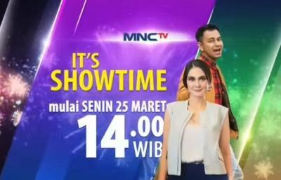 MNCTV Hadirkan It's Showtime Indonesia, Raffi Ahmad & Luna Maya Jadi Host