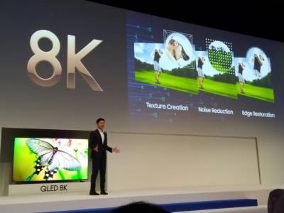 Samsung Perkenalkan TV QLED 8K dengan Teknologi AI