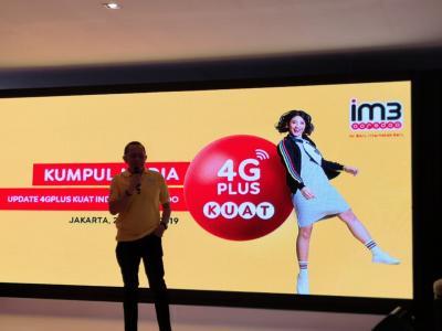 Indosat Ooredoo Siapkan Dana Rp10 Triliun Perkuat Jaringan 4G Plus di 2019