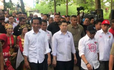 Hary Tanoe Dampingi Jokowi Kampanye, Pengamat: Efek Prediksi Perindo Lolos