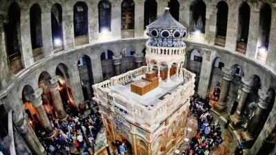Mengunjungi Tempat Yesus Disalib, Wafat, Dikubur dan Dibangkitkan