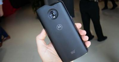 Moto Z3 Jadi Smartphone 5G Pertama, Saingi Samsung