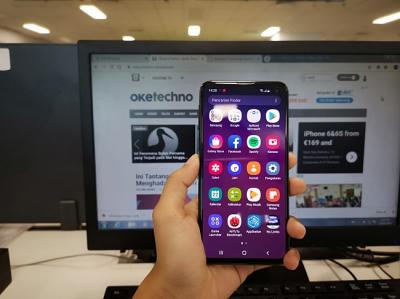 Menjajal Performa Samsung Galaxy S10e dengan Layar Infinity O
