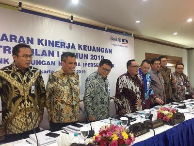 BTN Raup Laba Bersih Rp723 Miliar di Kuartal I-2019, Naik 5%