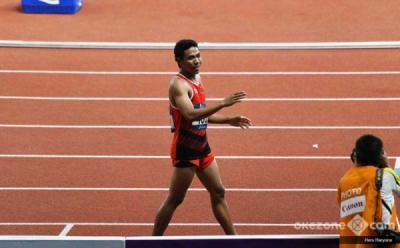 Lalu Muhammad Zohri Raih Medali Perak di Kejuaraan Atletik Asia 2019