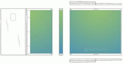 Samsung Siapkan Ponsel Layar Lipat Ganda, Inikah Wujudnya?