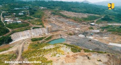 Pembangunan Bendungan Napun Gete Sudah 63%