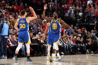 Tekuk Blazers Secara Dramatis di Game Ke-4, Warriors ke Final NBA 2018-2019