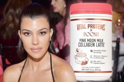 Kourtney Kardashian Luncurkan Produk Kolagen yang Bisa Diminum