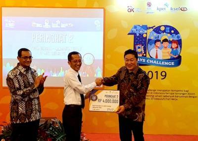 Galeri Investasi Binaan MNC Sekuritas Menangkan Kompetisi 10 Days Challenge