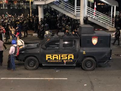 'Raisa' Terciduk Ikutan Aksi Demo 22 Mei